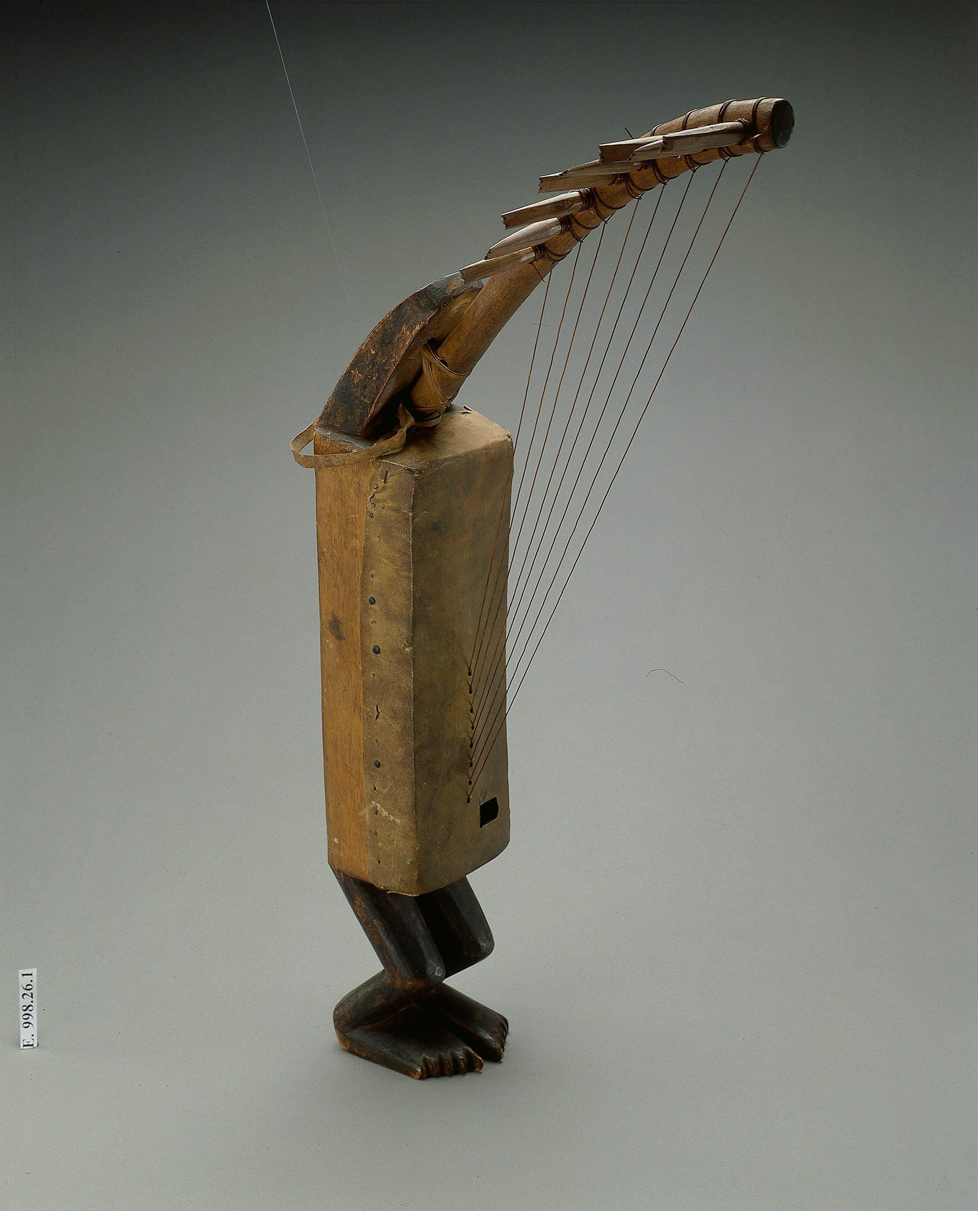 Harpe Ngombi, Gabon, Photo : Thierry Ollivier