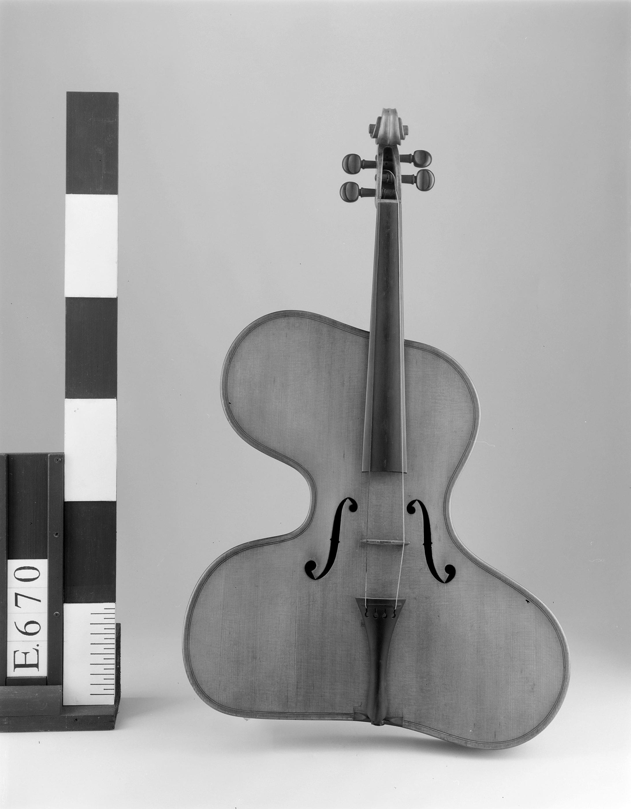 "Violon irrégulier ""violino harpa"" | Thomas Zach"