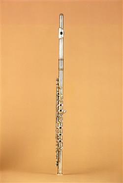 Flûte traversière Jérôme Thibouville, 19e siècle