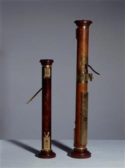 Flûte à bec ténor dite flûte colonne   Hans Rauch von Schratt
