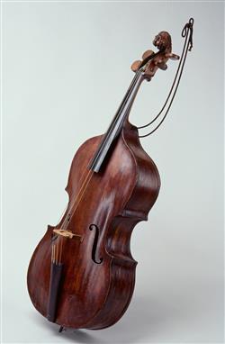 Basse de violon dite de procession | Anonyme