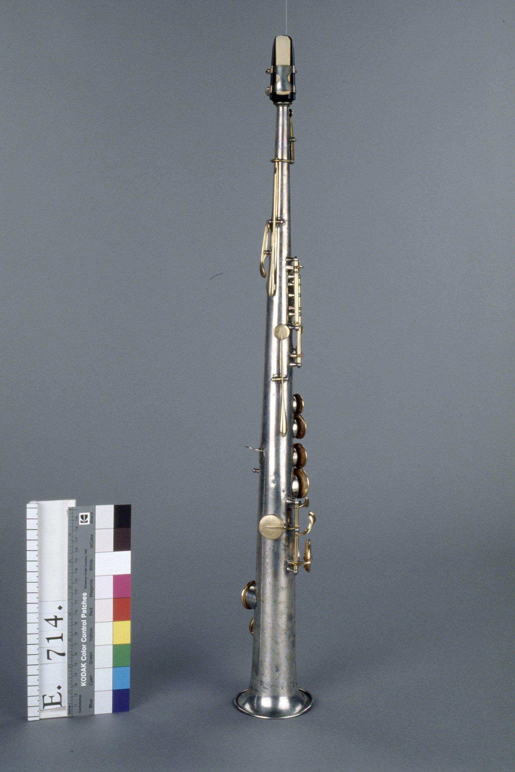 Saxophone soprano en si b. | Adolphe Sax
