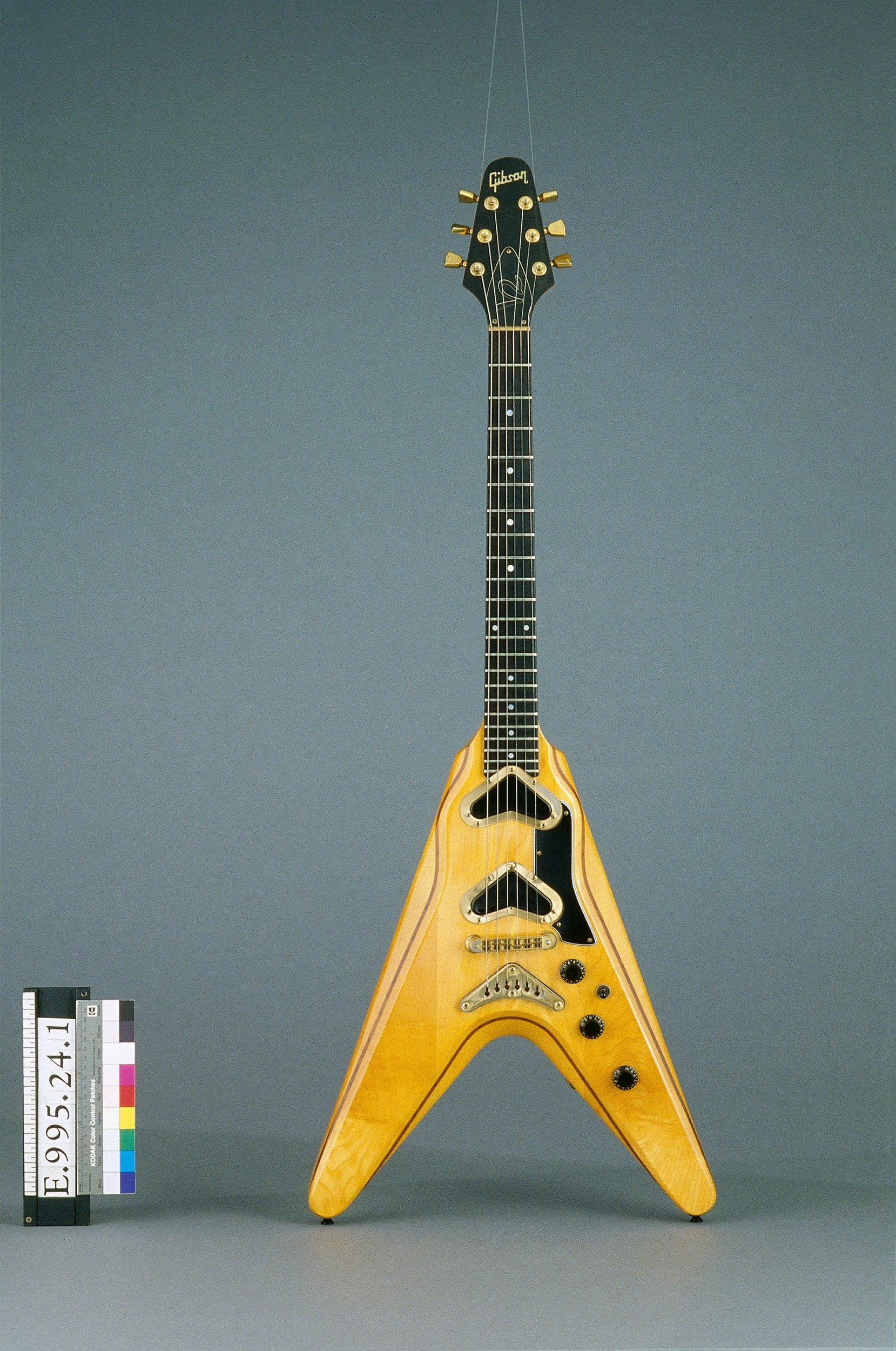 "Guitare électrique ""Flying V 2"" 