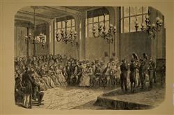 Concert chez Adolphe Sax avec Abd-el-Kader   Ecole française