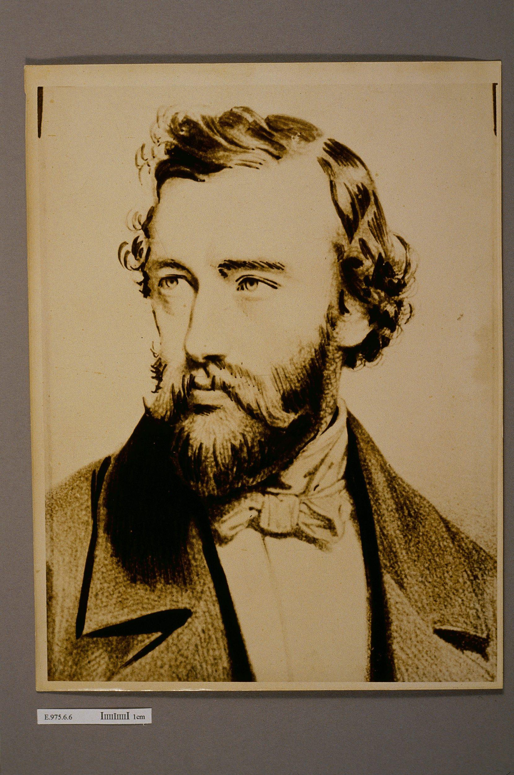 Portrait d'Adolphe Sax (1814-1894) | Ecole française