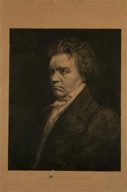 Portrait de Ludwig van Beethoven (1770-1827) | Dake, Carel-L.