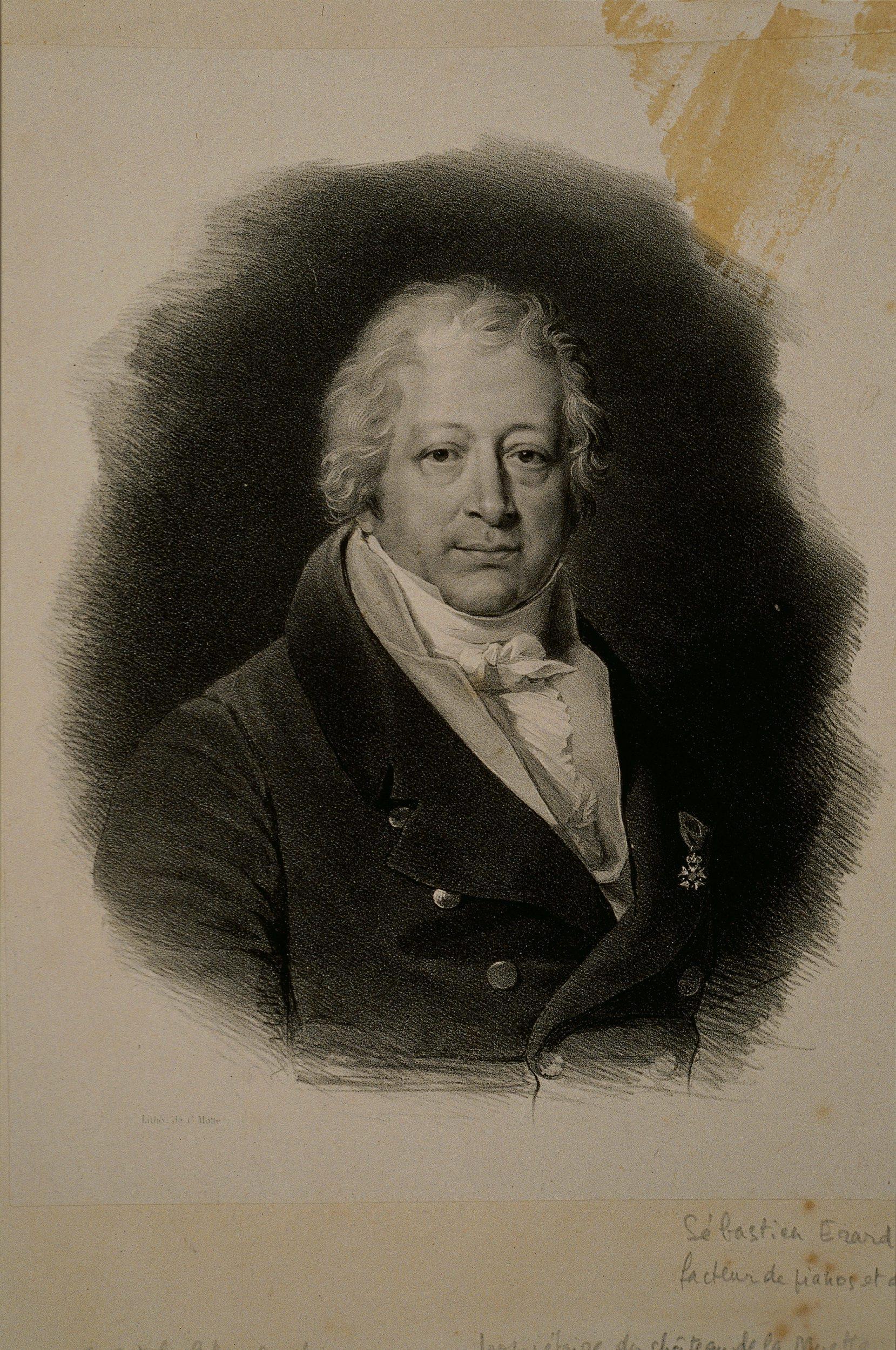 Portrait de Sébastien Erard (1752-1831) | Motte, Charles Etienne Pierre