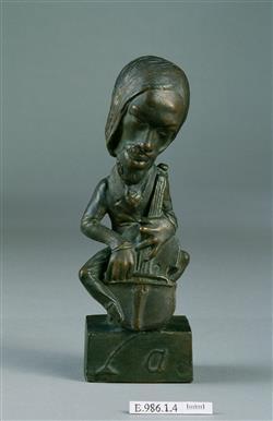 Portrait-charge d'Alexandre Batta (1816-1902) | Dantan, Jean-Pierre