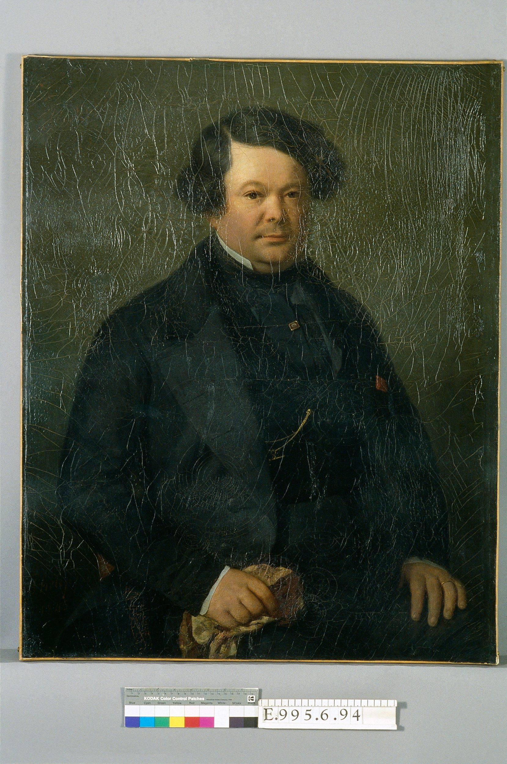 Portrait d'Auguste-Mathieu Panseron (1796-1859) | Ecole française