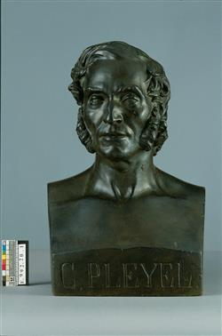 Buste de Camille Pleyel (1788-1855)   Dantan, Jean-Pierre