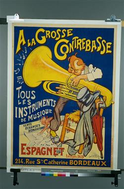 """A la grosse contrebasse""   Ecole française"