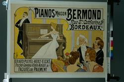 """""""Pianos maison Bermond""""   Georges, Jacques"""
