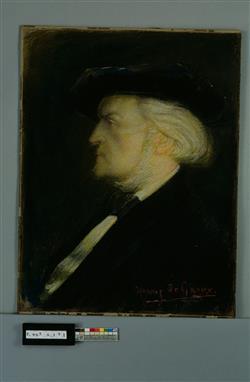 Portrait de Richard Wagner (1813-1883) | Degroux, Henri-Jules-Corneille De Groux
