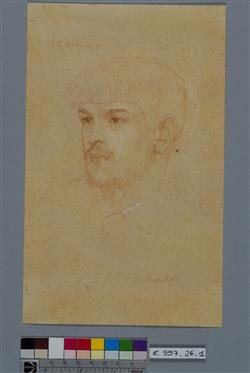 Portrait de Claude Debussy (1862-1918)   Baschet, Marcel