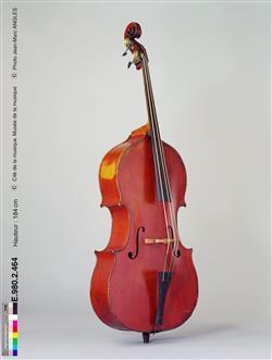 Contrebasse à trois cordes   Jean-Baptiste Vuillaume