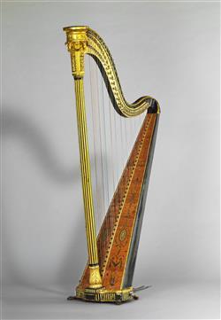 Harpe à simple mouvement   Maison Erard