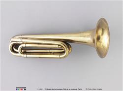 Trompette naturelle en mi bémol | Adolphe Sax