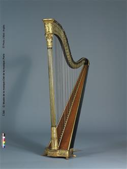 Harpe | Henri Naderman