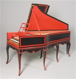 Reconstitution d'un clavecin de Jean-Claude Goujon (E.233, Musée de la musique, Paris) | Ivan de Halleux