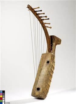 "Harpe arquée ""ngombi"" | Anonyme"