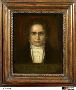 Portrait de Ludwig van Beethoven | Stuck, Franz von