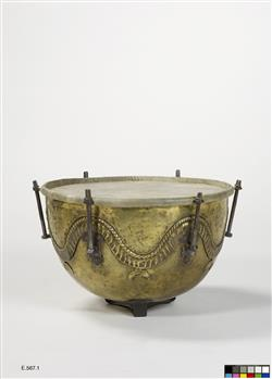 Timbale de cavalerie | Anonyme