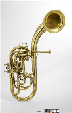 Saxhorn basse en ut   Adolphe Sax