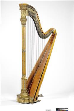 Harpe à double mouvement, Maison Erard, Paris, 1890 – Musée de la musique