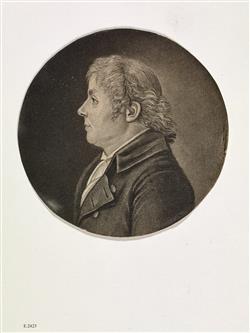 Portrait de Lucien Joseph Raoux (1752-1823)   Ecole française