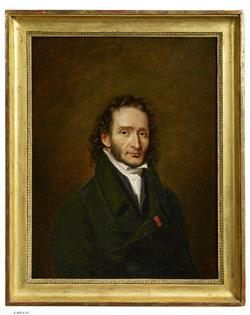 Portrait de Niccolò Paganini | Ecole française