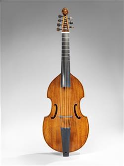 Fac-similé d'une basse de viole d'après Michel Collichon (E.980.2.667, musée de la Musique, Paris)   Muthesius, Tilman