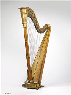 Harpe à pédales | Blazdell, Alexander