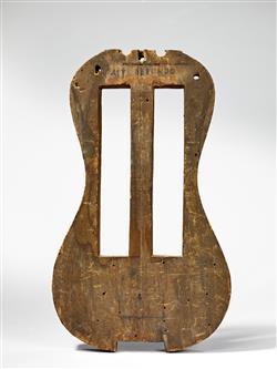 Moule de viole d'amour (?)   Antonio Stradivari