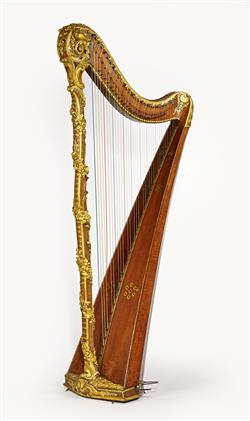 Harpe   Edmond Saunier