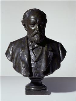 Buste d'Adolphe Sax (1814-1894) | Millet de Marcilly, Edouard-François