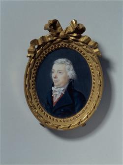 Portrait de Jacques Lafleur (1757-1832), archetier | Anonyme