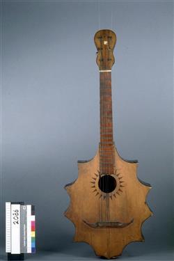 Guitare irrégulière | Anonyme