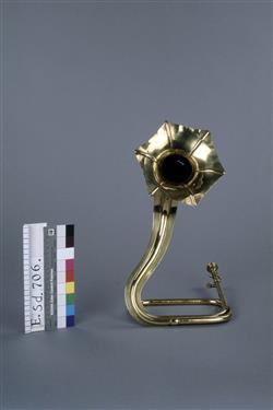 Trompette naturelle en forme de fleur pour Sigurd de Reyer   Adolphe-Edouard Sax