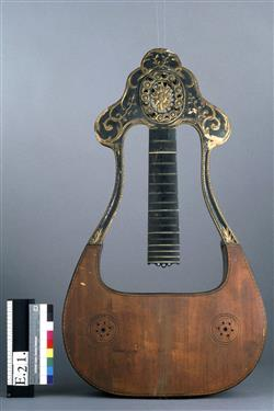 Guitare-lyre | Anonyme