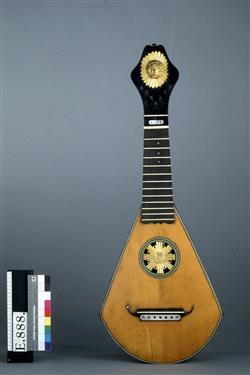 Guitare-harpe | L. Levien