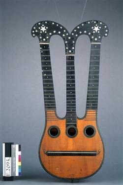 Guitare dite Harpolyre   J. F. Salomon