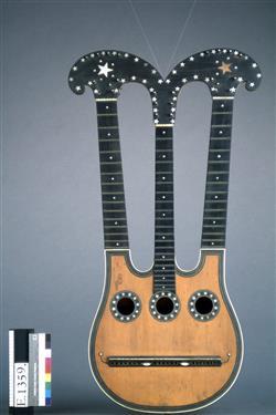 Guitare dite Harpolyre | J. F. Salomon