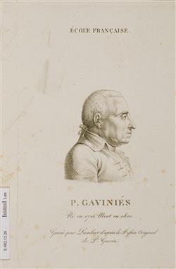 Portrait de Pierre Gaviniès (1728-1800) | Lambert Frères
