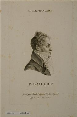 Portrait de Pierre Baillot (1771-1842) | Lambert Frères