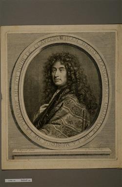 Portrait de Jean-Henri d'Anglebert (1635-1691) | Vermeulen