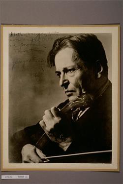 Portrait de Georges Enesco | Ecole française
