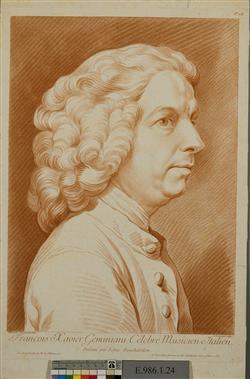 Portrait de Francesco Saverio Geminiani (1687-1762) | Lucien, Jean-Baptiste