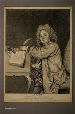 Portrait de Jean Ferry Rebel (1666-1747) | Moyreau, Jean