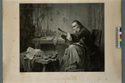 """Stradivarius dans son atelier"" | Mouilleron, Adolphe"