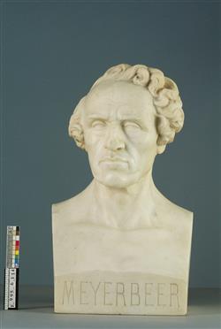 Buste de Giacomo Meyerbeer (1791-1864) | Dantan, Jean-Pierre